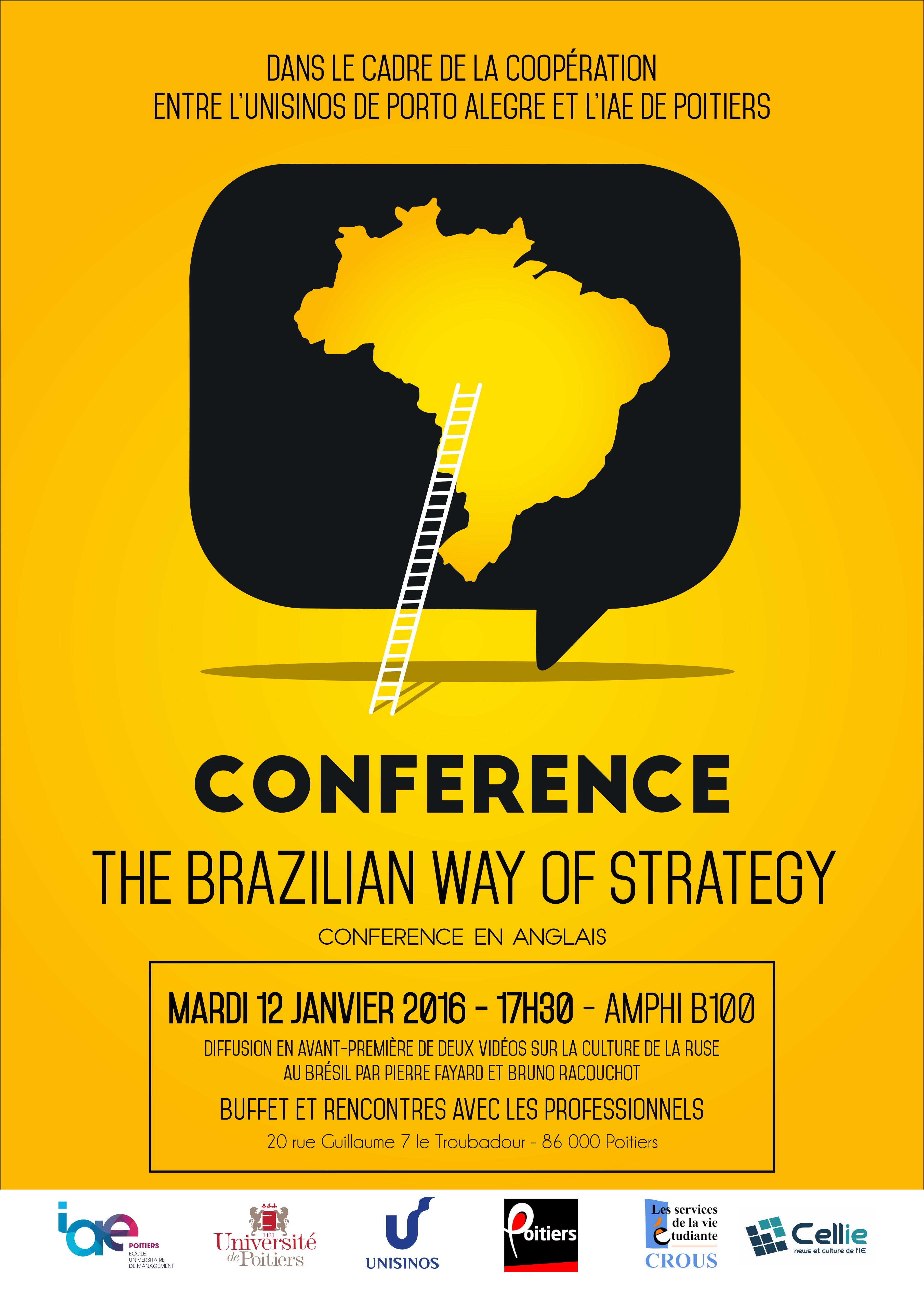 "Conférence ""The Brazilian Way of Strategy"""